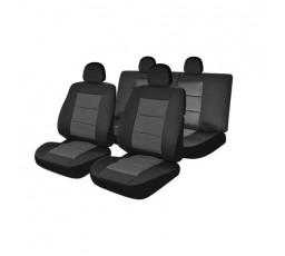Set huse auto Umbrella Premium Lux, M02, 11 Piese, Negru