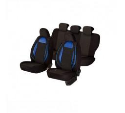 Set huse scaun Racing albastru - negru