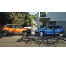 Set protectii laterale portiere Dacia Sandero III / Stepway III (2021+) 8201735521 Renault