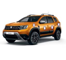 Pachet off-road Dacia Duster II