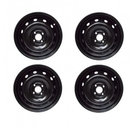 Set 4 jante tabla ORIGINALE Dacia Logan 2 ET40 6J X 15H2 403003689R