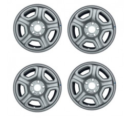 Set 4 jante tabla ORIGINALE Dacia Duster ET50 6 1/2 X J16H2 403006365R