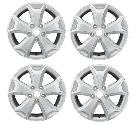 Set 4 Jante Aliaj ORIGINALE Dacia Duster Cyclade ET50 6,5 J X 16CH 5 403000813R