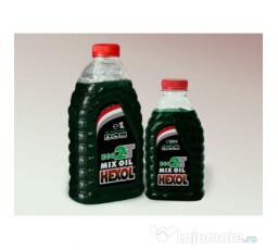 Ulei amestec Hexol Eco 2T, verde, 500ml